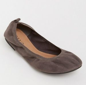 Torrid Grey Faux Leather Flats